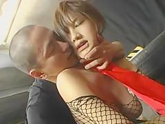 Horny Japanese girl Azusa Ayano in Incredible Hardcore, Big Tits JAV clip