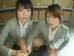 Exotic Japanese chick Airi Hayasaka, Kyouko Maki, Mai Miura in Best Handjobs, POV JAV scene