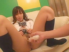 Crazy Japanese whore in Exotic Showers, College/Gakuseifuku JAV scene