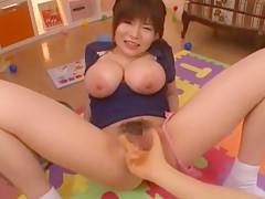 Crazy Japanese whore Yui Serizawa in Exotic POV, Fingering JAV video