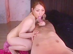 Fabulous Japanese model Akubi Asakara in Crazy Blowjob/Fera, Handjobs JAV video