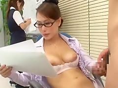 Incredible Japanese girl Yayoi Yanagida in Best Office, Doggy Style JAV scene