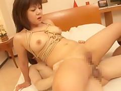 Exotic Japanese whore in Amazing Hardcore, Dildos/Toys JAV clip