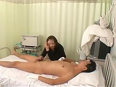 Crazy Japanese girl Mirei Yokoyama, Emiri Momoka, Aya Kiriya in Amazing Nurse/Naasu JAV clip