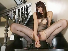 Hottest Japanese slut Kaede Imamura in Incredible Solo Girl, Dildos/Toys JAV clip