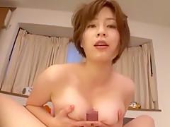 <パイズリ動画>奥田咲
