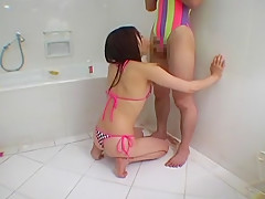 Incredible Japanese chick in Hottest Blowjob/Fera JAV clip