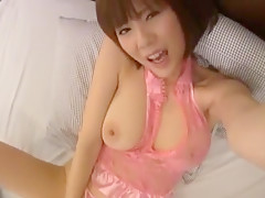 Crazy Japanese model Yuma Asami in Fabulous Fingering, Masturbation/Onanii JAV scene