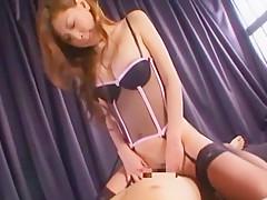 Exotic Japanese slut Mayumi Sendo in Incredible Ass, POV JAV scene