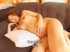 Amazing Japanese model in Horny Pregnant, Hairy JAV movie