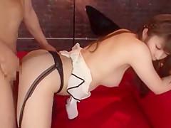 Hottest Japanese chick Sophia Kurasuno in Horny Stockings/Pansuto JAV scene