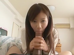 Fabulous Japanese chick Nozomi Shirayuri in Amazing Big Dick, POV JAV clip