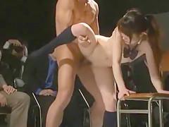 Exotic Japanese whore Mahiro Aine, Koharu Yuzuki, Aika Nose in Hottest Public, Fingering JAV movie