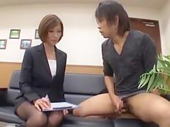 Fabulous Japanese girl Akari Asahina in Best JAV video