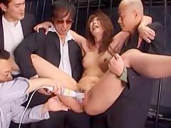 Horny Japanese girl Nanako Yoshioka in Crazy Fetish, Lingerie JAV video