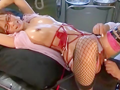Exotic Japanese girl Akina in Hottest Facial, BDSM JAV clip