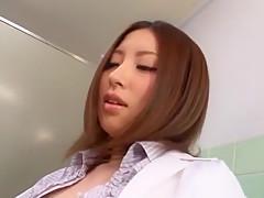 Crazy Japanese slut Rune Tsukishiro in Hottest Doggy Style JAV video