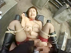 Hottest Japanese model Marie Kurosawa in Exotic Stockings/Pansuto, Outdoor JAV video