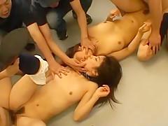 Incredible Japanese whore Akane Mochida, Rina Himekawa in Best Cumshots, Small Tits JAV scene