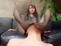 Horny Japanese slut Rui Saotome in Exotic JAV movie