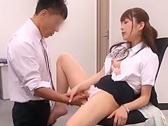 Hottest Japanese model Yuria Sonoda, Meisa Asagiri, Maomi Nagasawa in Crazy Office, Doggy Style JAV scene
