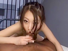 Horny Japanese slut Saki Ootsuka in Crazy Cumshots, POV JAV movie