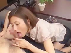 Crazy Japanese model Akari Asahina in Hottest Secretary, Small Tits JAV scene