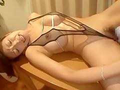 Horny Japanese girl Reiko Kobayakawa in Incredible Dildos/Toys JAV clip