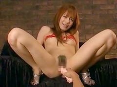 Horny Japanese whore Shelly Fujii in Crazy Fingering, Masturbation/Onanii JAV video