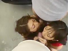 Crazy Japanese chick Jyuri Wakabayashi in Hottest Outdoor, Public JAV video