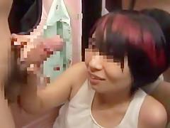 Crazy Japanese whore in Horny Facial, Public JAV clip