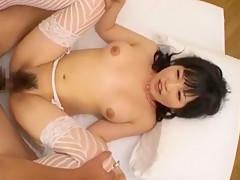 Best Japanese slut Izumi Yoshikura in Fabulous Hairy, Fishnet JAV video
