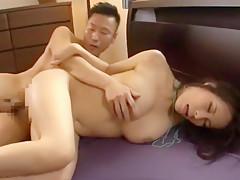 Exotic Japanese chick Kyouko Maki in Crazy Big Tits, Cunnilingus JAV video