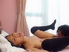 Exotic Japanese whore Ramu Suzumiya in Amazing Fingering, Stockings/Pansuto JAV video