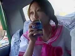 Hottest Japanese whore Hime Orihara in Best Car, POV JAV video