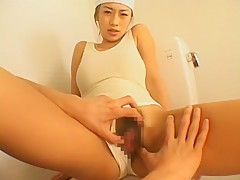 Horny Japanese chick in Crazy Girlfriend, Masturbation/Onanii JAV movie
