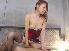 Best Japanese slut in Incredible Doggy Style, Fishnet JAV video