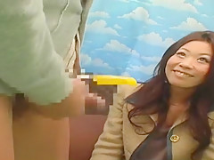 Best Japanese whore in Amazing Interview JAV video
