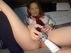 Horny Japanese chick in Crazy Solo Girl, Masturbation/Onanii JAV scene