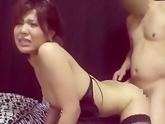Incredible Japanese slut in Best Stockings/Pansuto JAV movie