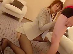 Crazy Japanese slut Saya Tachibana in Amazing Doggy Style JAV movie