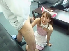 Exotic Japanese model Miku Mizuhashi in Fabulous Blowjob/Fera JAV movie