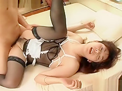 Crazy Japanese whore in Exotic Blowjob/Fera, Uncensored JAV video