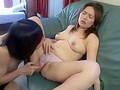 Horny Japanese whore in Amazing MILFs, Blowjob/Fera JAV clip