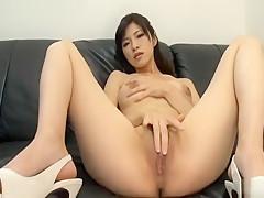 Horny Japanese girl in Exotic Masturbation/Onanii, Nurse/Naasu JAV clip