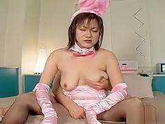Horny Japanese girl in Hottest Uncensored, Fishnet JAV movie