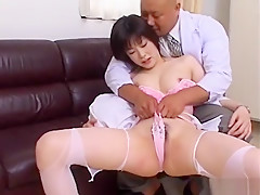 Incredible Japanese girl in Exotic Creampie/Nakadashi, Handjobs JAV video