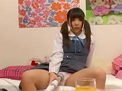 Crazy Japanese slut in Horny Masturbation/Onanii, Girlfriend JAV movie