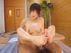 Hottest Japanese girl Azumi Harusaki in Amazing Dildos/Toys, Blowjob/Fera JAV scene
