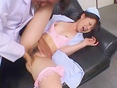 Fabulous Japanese model in Incredible Cunnilingus, Medical JAV clip